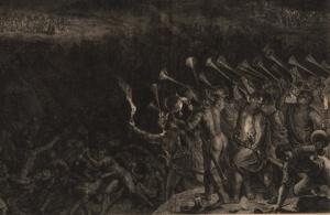 vander Gouwen's Gideon's Battle with the Midianites