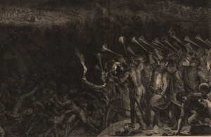 vander Gouwen's Gideon's Battle with the Midianites
