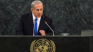 Netanyahu before the UN