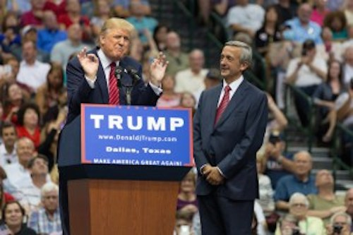 Trump and Jeffress